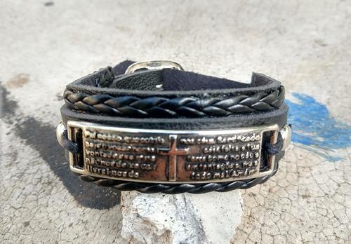 pulseira masculina feminina pai nosso