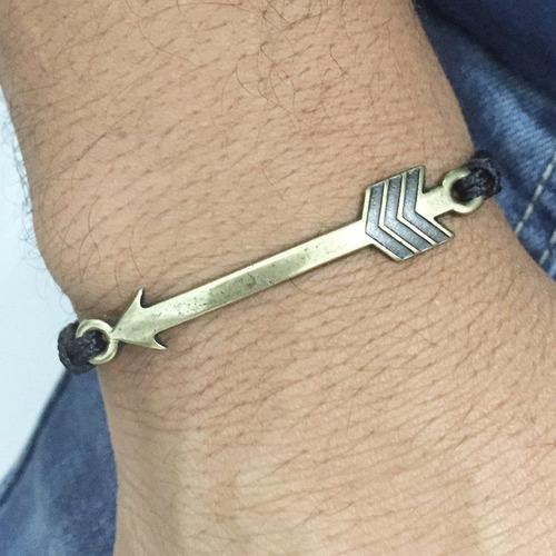 pulseira masculina feminina shambala macrame flecha