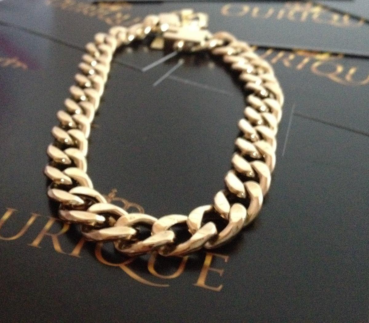 c5f5fc63633e9 pulseira masculina groumet elos 1x1 grumet de ouro 18k 750. Carregando zoom.
