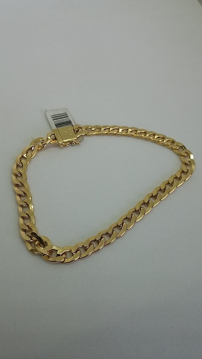 f075bc2474bc6 pulseira masculina grumet 5.5mm fecho gaveta ouro 18k 750  . Carregando  zoom.