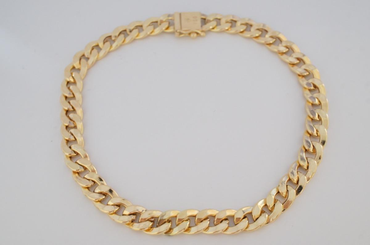 27f97be539547 pulseira masculina grumet fecho gaveta ouro 18k 750. Carregando zoom.