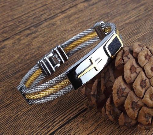 pulseira masculina ouro
