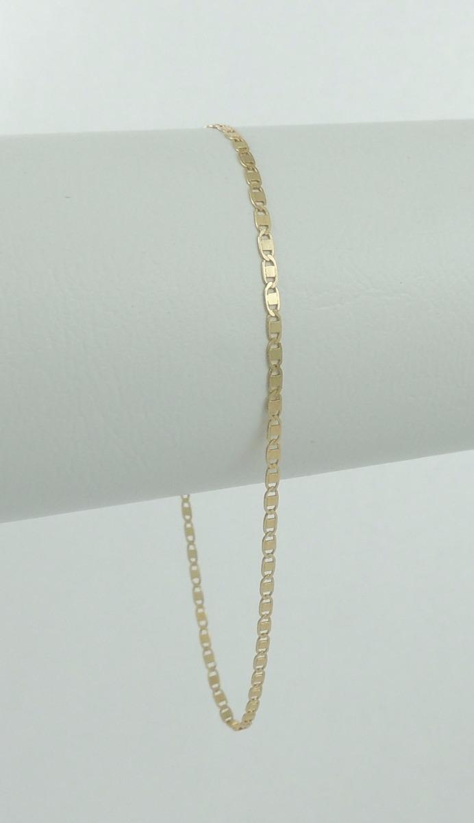 df7360d1825 pulseira masculina piastrine 20 cm em ouro 18k 750 promoção. Carregando  zoom.