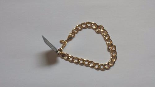 pulseira masculina  semi joia pronta entrega