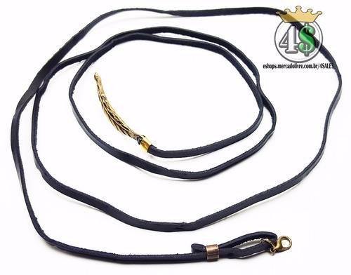 pulseira masculino feminina couro bracelete - via carta!