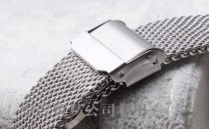 pulseira mesh interlock 20 mm fios 0,8 ac. polido superior