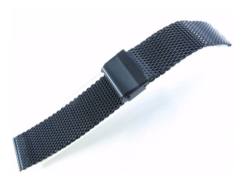 pulseira mesh interlock 20 mm fios 0,8 pvd superior 2 travas