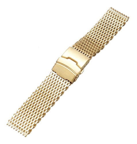pulseira mesh  shark  24mm  interlock de r$ 299,00