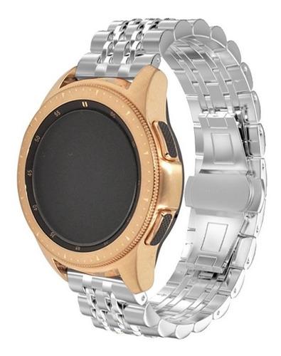 pulseira metal 7 elos para samsung galaxy watch active 40mm