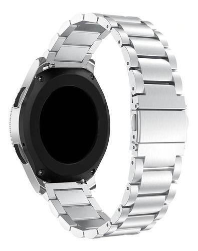 pulseira metal samsung galaxy watch 46mm preto ou prata