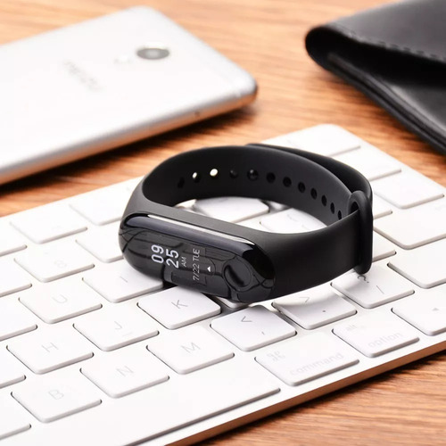 pulseira mi band 3 relógio smartwatch monitor cardíaco