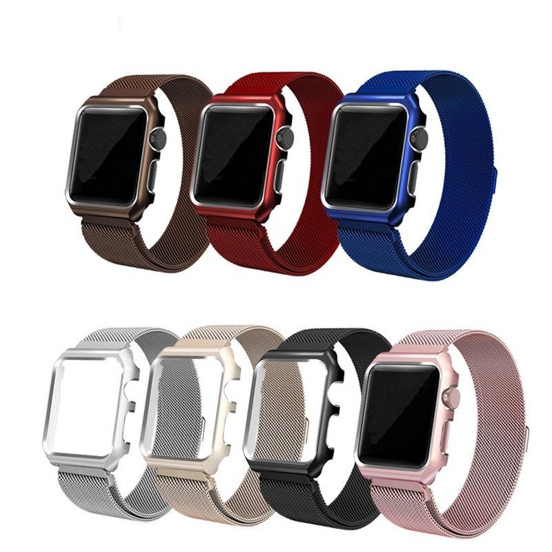 e7c6fffeff8 pulseira milanese 38 42mm bumper apple watch 42 38mm iwatch. Carregando zoom .