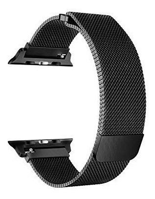 pulseira milanese aço loop metal para ap watch 1 2 3 4