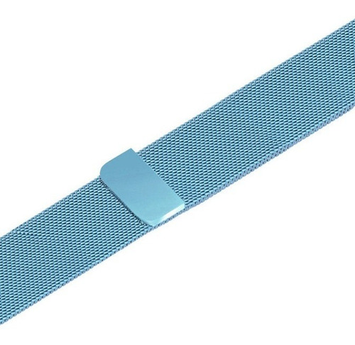 pulseira milanese para apple watch 42/44mm azul claro jetech