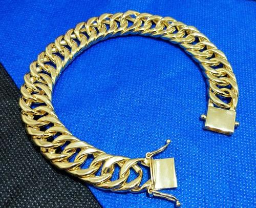 pulseira moeda antiga banhada ouro 18k, f. gaveta elos sold.