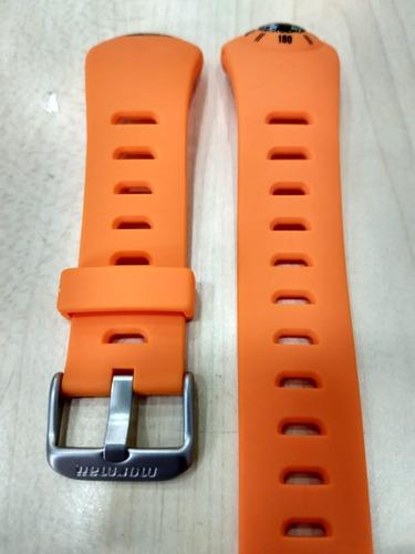 pulseira mormaii bussola 1324aa laranja original frete grati