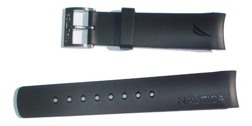 pulseira nautica n14536g n14537 bfc preto 100% original