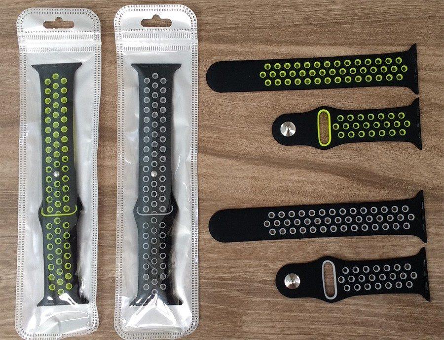 14b9610e573 pulseira nike para apple watch 38 40mm 42 44mm iwatch séries. Carregando  zoom.