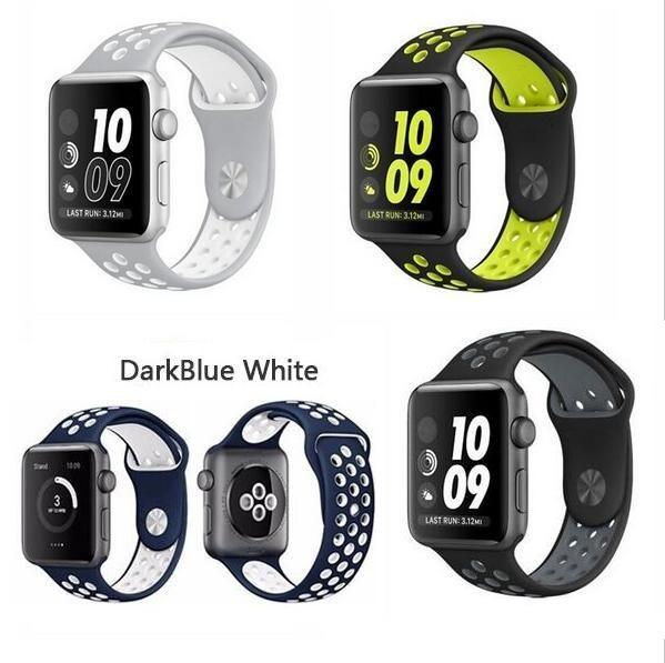 986295ef0fe Pulseira Nike Para Apple Watch 38 40mm 42 44mm Iwatch Séries - R  49 ...