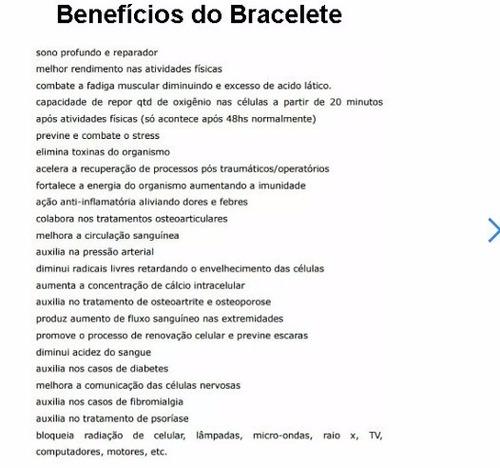 pulseira nipponflex bracelet style magn u00e9tica