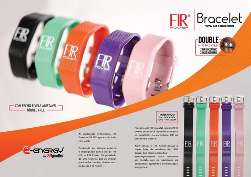 pulseira nipponflex original fir® power bracelete