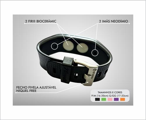 pulseira nipponflex original fir® power bracelete lançamento