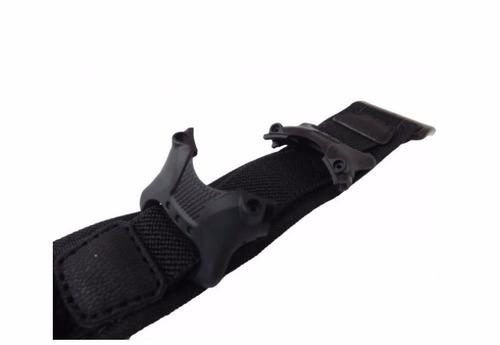 pulseira nylon compatível mormaii yp6334 e speedo 80565g
