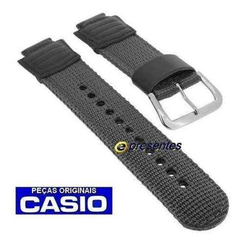 pulseira nylon g-2210 g-2200 - 100% original casio g-shock