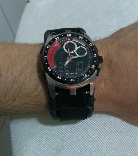 pulseira nylon p/ relogio technos ca251a - frete grátis