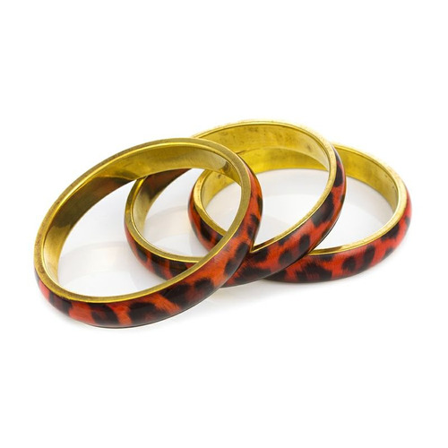 pulseira oncinha dourada