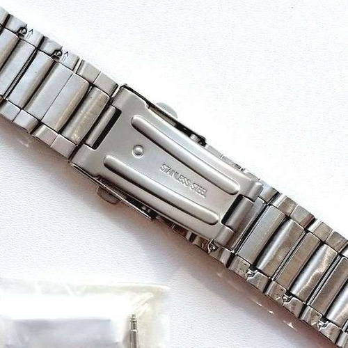 pulseira original amw-710d amw710 casio marine gear aço inox