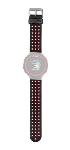 pulseira original garmin forerunner 220 620 vermelha preto