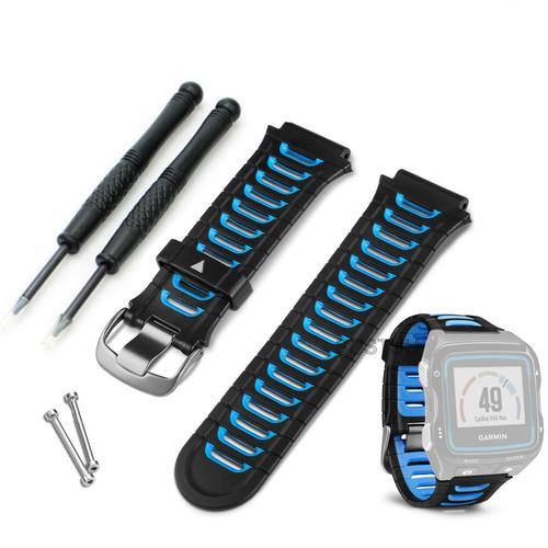 pulseira original garmin forerunner 920xt preta azul brasil