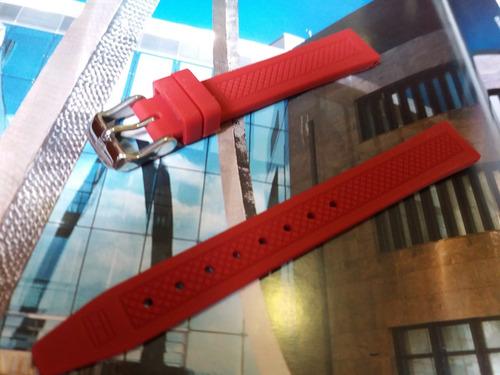pulseira original para relógios tommy hilfiger 14mm silicone