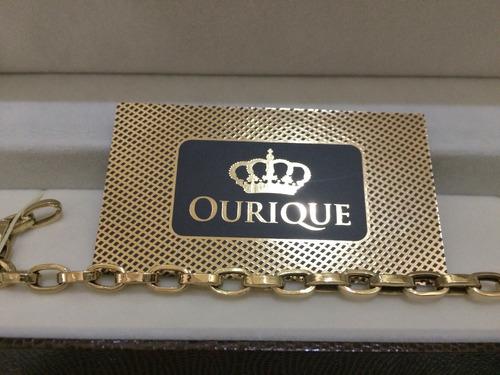 pulseira ouro 18k 750 cartier alongado 12 gramas