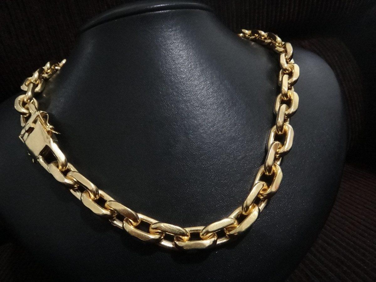 29fa2e8b7a8 pulseira ouro 18k masculina maciça cadeado cartie 60grs 20cm. Carregando  zoom.