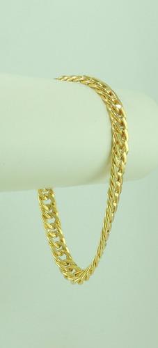 pulseira ouro masculina