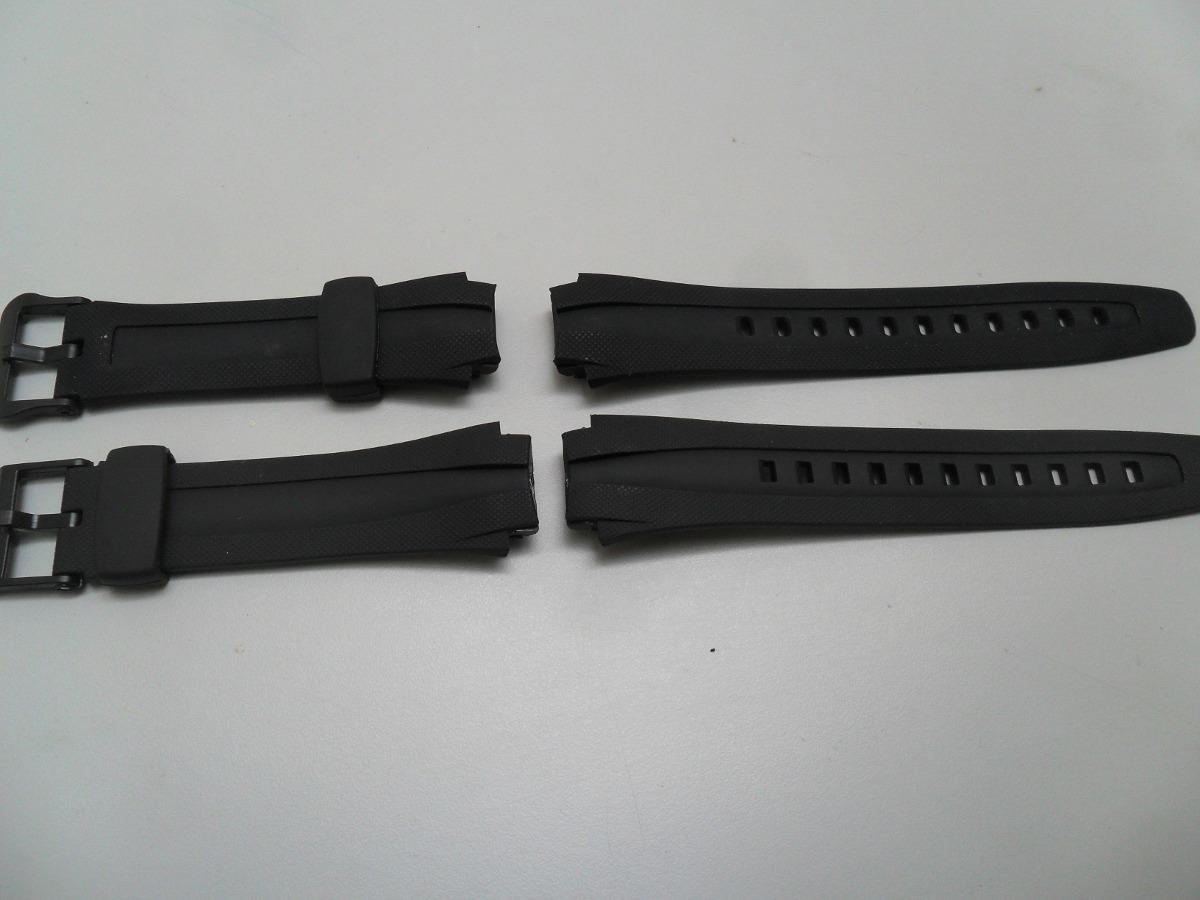 6f7b242a841 Pulseira P  Relógio Casio Aq-160 Aq-161 Aq-162 Aq-163 Preto - R  22 ...