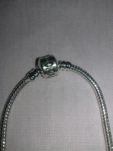pulseira pandora com pingentes berloque frete grátis