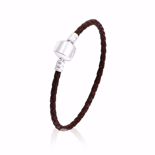 pulseira pandora couro ecológico gratís 01 berloque