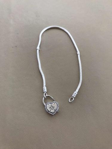 pulseira pandora  legítima belíssima ale 925 importada