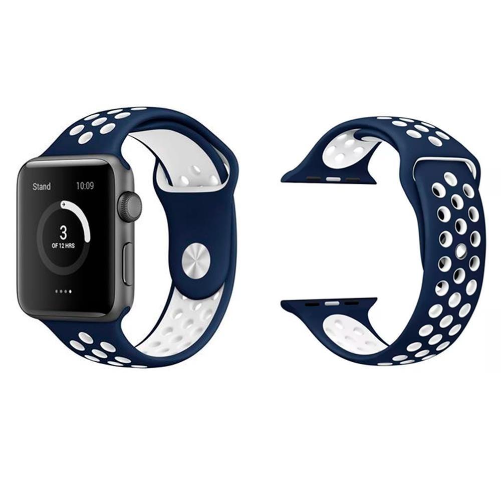 ad4131a9291 Pulseira Para Apple Watch 38 40mm E 42 44mm Serie 1 2 3 4 - R  29
