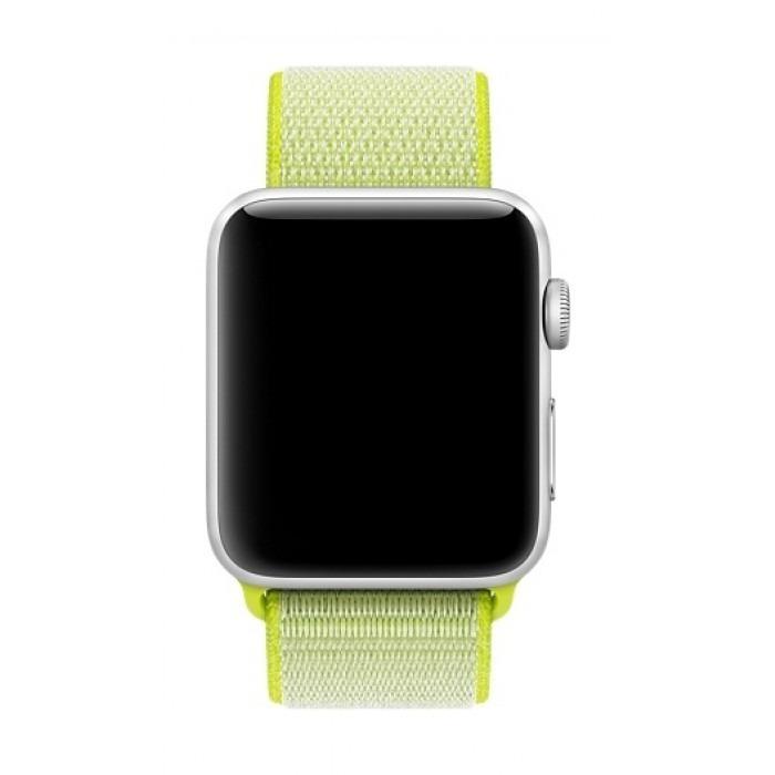 0e01f829942 Pulseira Para Apple Watch Nylon Loop Esportiva - 38mm   42mm - R  35 ...