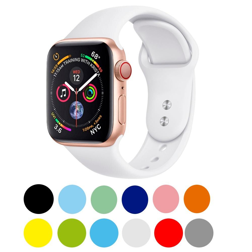 87e12a4f796 Pulseira Para Apple Watch S 1 2 3 4 38 40 42 44mm Tamanhos - R  39 ...