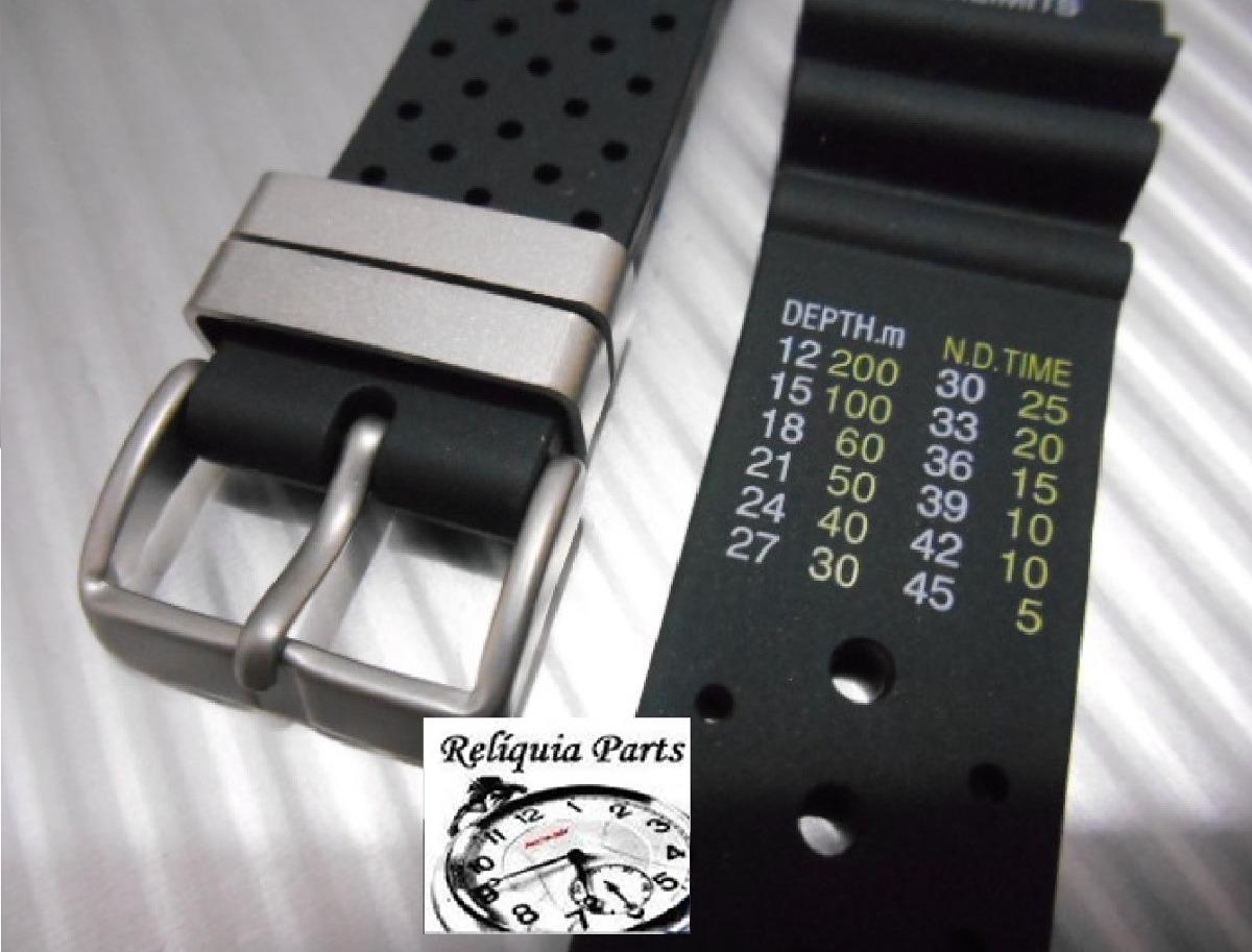 cbefd38ae8c Pulseira Para Citizen Promaster E Outros 22mm Especial Rara - R  90 ...