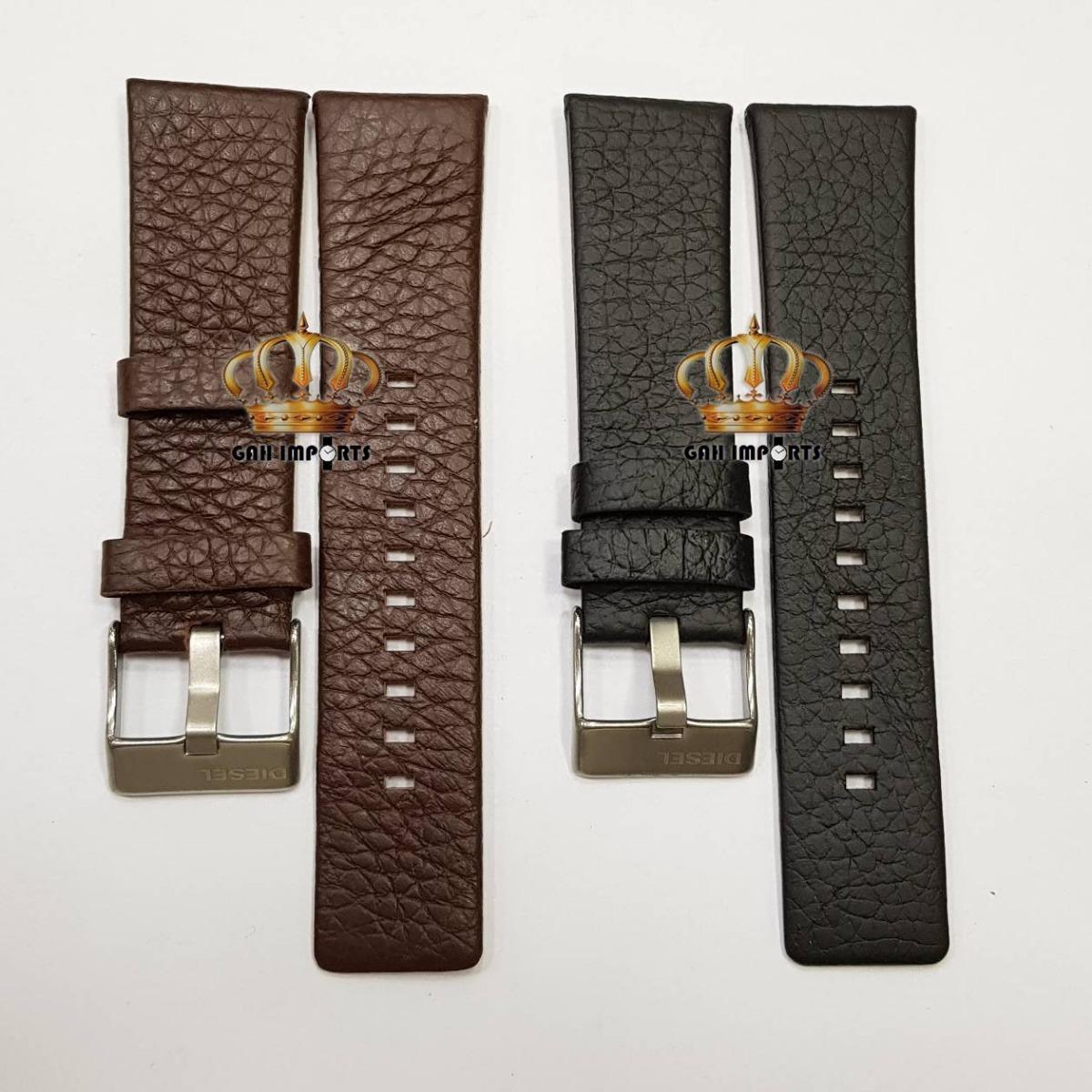 b94c236e83c pulseira para diesel 24mm couro legítimo com fivela. Carregando zoom.