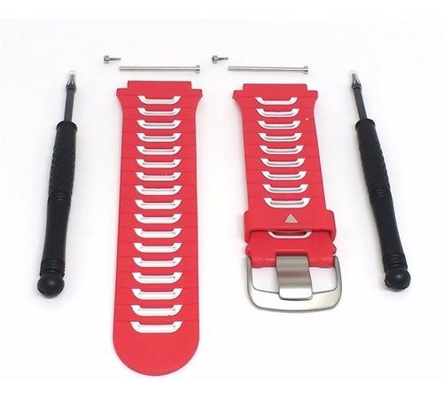 pulseira para garmin forerunner 920 xt vermelha com n fiscal