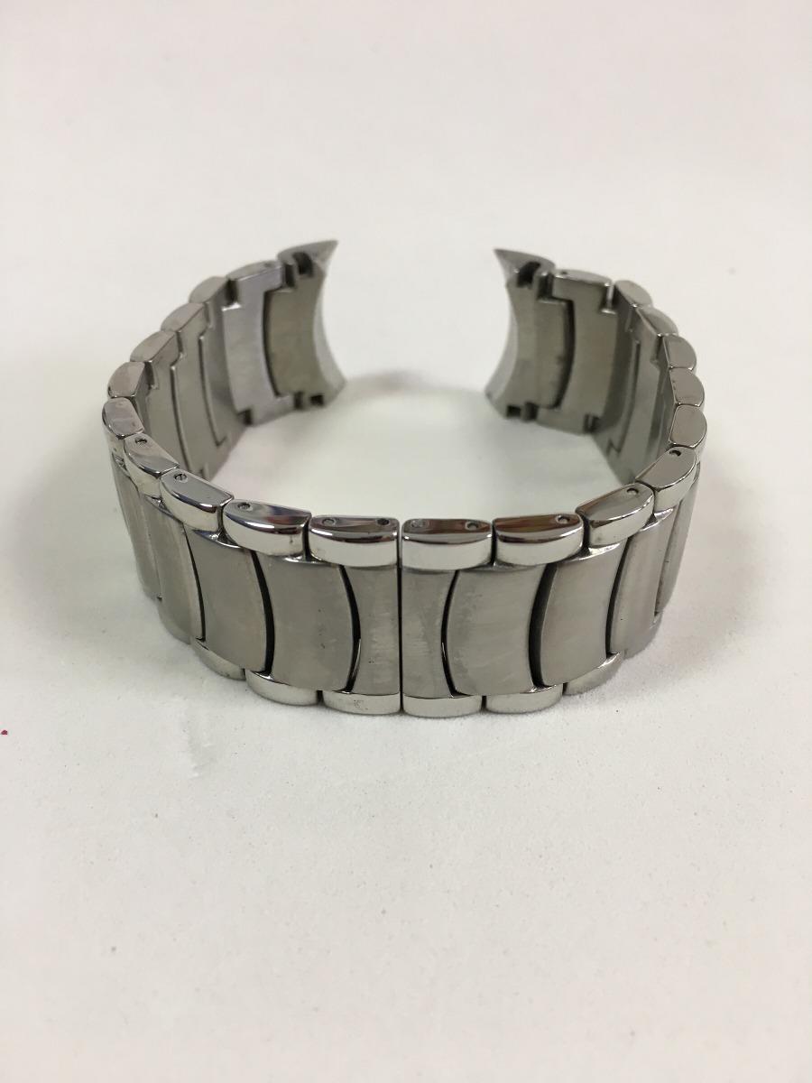 dc9f28608b3 Pulseira Para Relógio Bvlgari De Aço 24mm - R  80