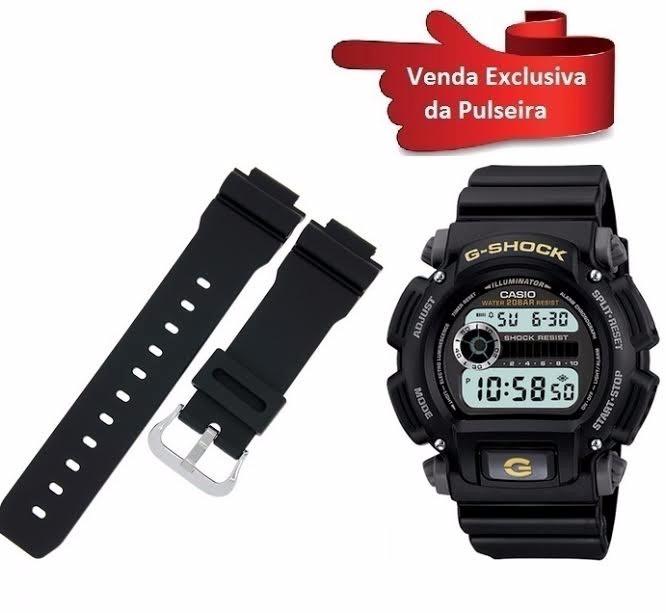 9fedf0cd963 Pulseira Para Relógio Casio G-shock Dw-9052 100% Original - R  129 ...