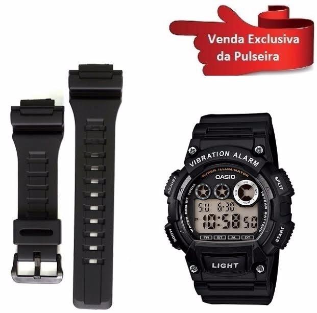 5773075ea47 Pulseira Para Relógio Casio G-shock W-735h-1av 100% Original - R ...